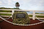 Puerto Rican Memorial, Coast Guard Road, Hawi, North Kohala, The Big Island of Hawaii