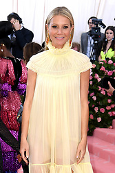 "Gwyneth Paltrow at the 2019 Costume Institute Benefit Gala celebrating the opening of ""Camp: Notes on Fashion"".<br />