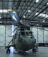 Royal Navy Westland Sea King Royal Naval Air Station Yeovilton Base Tour, UK, 25 November 2010: piQtured Sales: Ian@Piqtured.com +44(0)791 626 2580 (picture by Richard Goldschmidt)