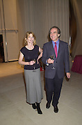 Jane Asher and Gerald Scarfe. Sunday Times Christmas party. British Museum. 27  November 2000. © Copyright Photograph by Dafydd Jones 66 Stockwell Park Rd. London SW9 0DA Tel 020 7733 0108 www.dafjones.com