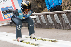 February 8, 2019 - Nita Englund of United States of America on first competition day of the FIS Ski Jumping World Cup Ladies Ljubno on February 8, 2019 in Ljubno, Slovenia. (Credit Image: © Rok Rakun/Pacific Press via ZUMA Wire)