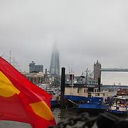 Celebrations in London, UK for Queen Elizabeth II Diamond Jubilee. 60 years as monarch in Britain.