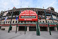 The legendary marquee of Wrigley Field. Wrigley Field is a baseball park located on the North Side of Chicago, Illinois. It is the home of the Chicago Cubs, one of the city's two Major League Baseball (MLB) franchises.