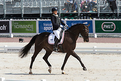 Annika Lykke Risum, (DEN), Aros A Fenris - Freestyle Test Grade III Para Dressage - Alltech FEI World Equestrian Games™ 2014 - Normandy, France.<br /> © Hippo Foto Team - Leanjo de Koster<br /> 25/06/14