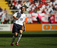 Photo: Chris Ratcliffe.<br /> England v Paraguay. Group B, FIFA World Cup 2006. 10/06/2006.<br /> Stuart Downing of England.