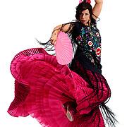Flamenco dancer Adriana Maresma Fois