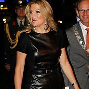 NLD/Rotterdam/20101003 - Uitreiking Edison Popprijzen 2010, aankomst Pr. Maxima