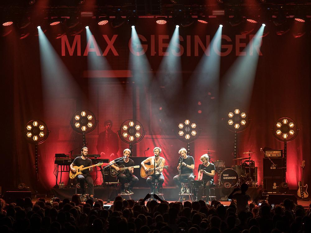 German singer-songwriter Max Giesinger at Zeltfestival Rhein-Neckar