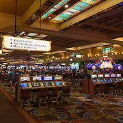 Slot machines in Las Vegas casino