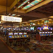 Slot machines in Las Vegas casino