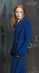 Tate Modern, London, April 26th 2017. Ellie Bamber arrives at the Tate Modern in London for the 'Lost In Space' 60th anniversary event for the Omega Speedmaster watch.