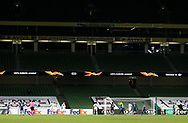 A view of play during the Europa League Group B match between Dundalk and Arsenal at Aviva Stadium, Dublin, Republic of Ireland on 10 December 2020.