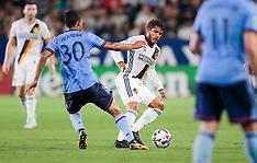 Los Angeles Galaxy v New York City FC - 12 Aug 2017