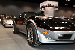 12 February 2015:   Official 1978 Chevrolet Corvette Indianapolis 500 PaceCar edition.<br /> <br /> First staged in 1901, the Chicago Auto Show is the largest auto show in North America and has been held more times than any other auto exposition on the continent. The 2015 show marks the 107th edition of the Chicago Auto Show. It has been  presented by the Chicago Automobile Trade Association (CATA) since 1935.  It is held at McCormick Place, Chicago Illinois