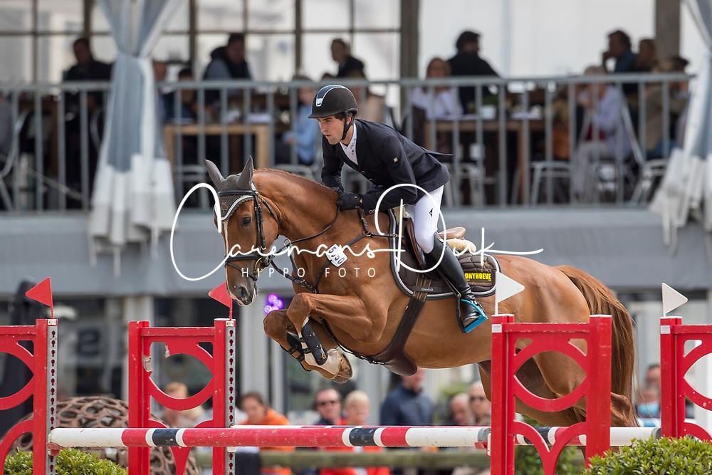 Spits Jorich, BEL, Pomme Castanoo<br /> BK Young Horses 2020<br /> © Hippo Foto - Sharon Vandeput<br /> 6/09/20