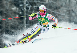 Christina Geiger (GER) competes during the 6th Ladies'  Slalom at 53rd Golden Fox - Maribor of Audi FIS Ski World Cup 2016/17, on January 8, 2017 in Pohorje, Maribor, Slovenia. Photo by Vid Ponikvar / Sportida