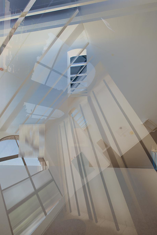 The Chicago Cultural Center. Abstract architectural imagery. Digital photography.