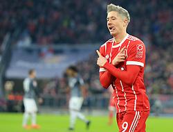 20171118, 1.BL, FC Bayern vs FC Augsburg, Allianz Arena, Muenchen, Fussball,  Sport, im Bild:...Robert Lewandowski (FCB) jubelt..*Copyright by:  Philippe Ruiz..Postbank Muenchen.IBAN: DE91 7001 0080 0622 5428 08..Oberbrunner Strasse 2.81475 MŸnchen, .Tel: 089 745 82 22, .Mobil: 0177 29 39 408..( MAIL:  philippe_ruiz@gmx.de ) ..Homepage: www.sportpressefoto-ruiz.de. (Credit Image: © Philippe Ruiz/Xinhua via ZUMA Wire)