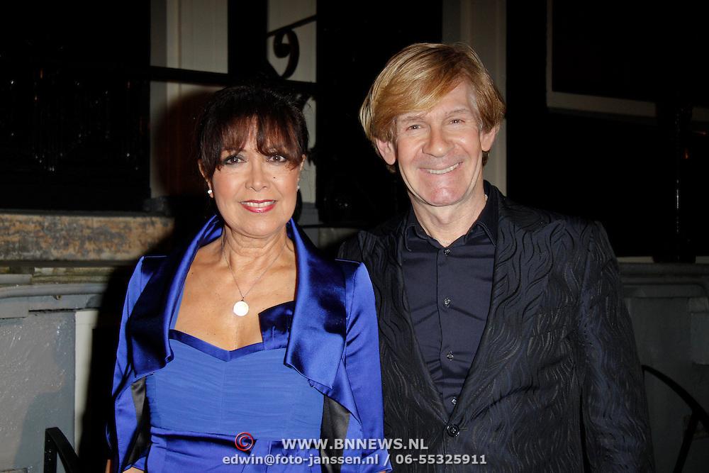 NLD/Amsterdam/20120217 - Premiere Saturday Night Fever, Sandra Reemer en Addy van den Krommenacker