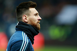 November 11, 2017 - Moscow, Russia - November 11, 2017. Russia, Moscow, Luzhniki Stadium. Friendly Football Match. Argentina's player Lionel Messi during match between national teams of Russia and Argentina (Credit Image: © Russian Look via ZUMA Wire)