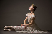 Lindsey Salvadalena poses for a portrait during a photo shoot at Bay Pointe Ballet in South San Francisco, California, on March 11, 2016. (Stan Olszewski/SOSKIphoto)