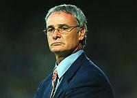 Claudio Ranieri (Chelsea Manager) Watford v Chelsea, Pre-Season Friendly, 5/08/2003. Credit: Colorsport / Matthew Impey