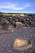 Salt Collector, Mookini, Kohala, Island of Hawaii<br />