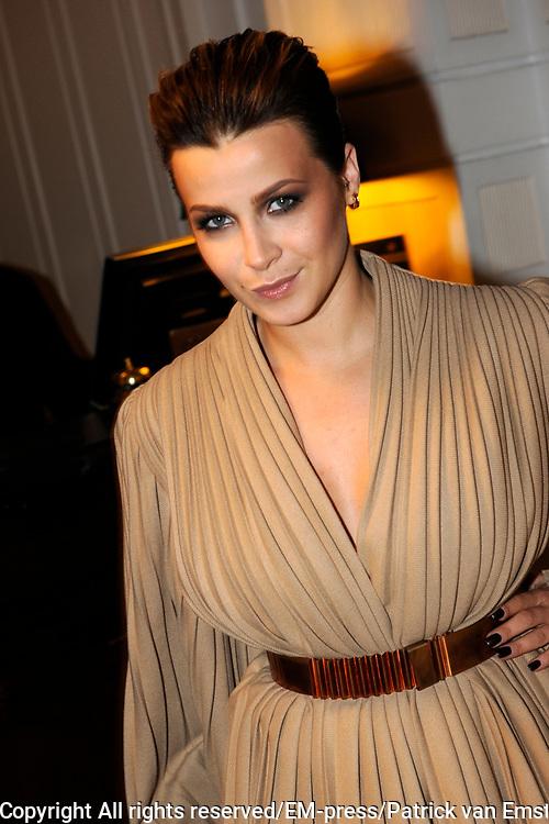 Uitreiking Beau Monde Awards in het Amstel Hotel, Amsterdam.<br /> <br /> Op de foto:  Victoria Koblenko