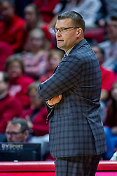 NORMAL, IL - February 26: Brian Wardle during a college basketball game between the ISU Redbirds and the Bradley Braves on February 26 2020 at Redbird Arena in Normal, IL. (Photo by Alan Look)