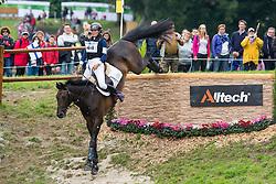 Sanna Siltakorpi, (FIN), Lucky Accord - Eventing Cross Country test - Alltech FEI World Equestrian Games™ 2014 - Normandy, France.<br /> © Hippo Foto Team - Leanjo de Koster<br /> 31/08/14