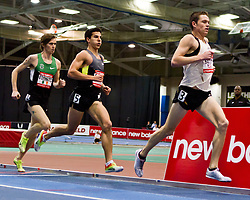 New Balance Indoor Grand Prix track meet: Men's 3000 meters, Batty leads Cabral, O'Lionaird