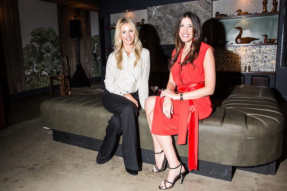 Greta Tufvesson and Nikki Lewis, co-founders of The Bevy, 2017.