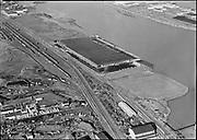 """Ackroyd 08692-1. """"Waterways Terminal Co. aerial. New terminal. November 24, 1958"""""""