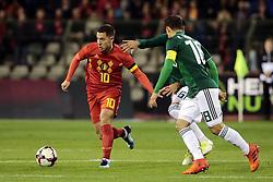 November 10, 2017 - Bruxelles, Belgique - Eden Hazard midfielder of Belgium (Credit Image: © Panoramic via ZUMA Press)