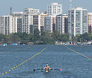 "Rio de Janeiro. BRAZIL.   USA W2X, <br /> BOW Meghan O'LEARY AND Ellen<br /> TOMEK,  2016 Olympic Rowing Regatta. Lagoa Stadium,<br /> Copacabana,  ""Olympic Summer Games""<br /> Rodrigo de Freitas Lagoon, Lagoa. Local Time 11:30:03   Saturday  06 August<br /> , 2016 <br /> <br /> [Mandatory Credit; Peter SPURRIER/Intersport Images]"