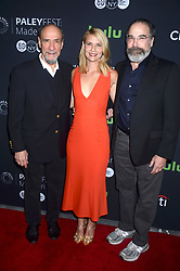 October 6, 2016 - New York, New York, USA - F. Murray Abraham, Claire Danes and Mandy Patinkin attend the PaleyFest New York 2016 'Homeland' screening and panel discussion at The Paley Center for Media on October 6, 2016 in New York City. (Credit Image: © Future-Image via ZUMA Press)