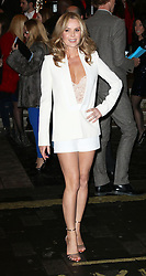 © Licensed to London News Pictures. 26/03/2014, UK. Amanda Holden, I Can't Sing! The X Factor Musical - press night, London Palladium, London UK, 26 March 2014. Photo credit : Richard Goldschmidt/Piqtured/LNP