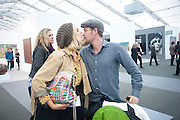 PRINCESS ELIZABETH THURN UND TAXIS; ALEX FLICK, Opening of Frieze 2009. Regent's Park. London. 14 October 2009 *** Local Caption *** -DO NOT ARCHIVE-© Copyright Photograph by Dafydd Jones. 248 Clapham Rd. London SW9 0PZ. Tel 0207 820 0771. www.dafjones.com.<br /> PRINCESS ELIZABETH THURN UND TAXIS; ALEX FLICK, Opening of Frieze 2009. Regent's Park. London. 14 October 2009