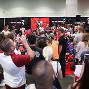 LAS VEGAS, NV - SEPTEMBER 13: Fans are seen on the show floor during the Box Fan Expo at the Las Vegas Convention Center on September 13, 2014 in Las Vegas, Nevada.   (Photo by Alex Menendez/Getty Images) *** Local Caption ***