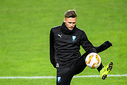 November 28, 2018 - MalmÃ, Sweden - 181128 Arnór Ingvi Traustason of Malmö FF during a training session ahead of the Europa league match between Malmö FF and Genk on November 28, 2018 in Malmö..Photo: Petter Arvidson / BILDBYRÃ…N / kod PA / 92159 (Credit Image: © Petter Arvidson/Bildbyran via ZUMA Press)