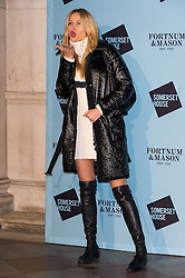 © Licensed to London News Pictures. 16/11/2016. PETRA NEMCOVA attends the Skate At Somerset House with Fortnum & Mason VIP Party. London, UK. Photo credit: Ray Tang/LNP