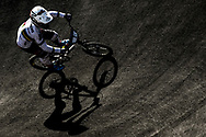 BMX Qualification, Laura Smulders (Netherlands) during the Cycling European Championships Glasgow 2018, at Glasgow BMX Centre, in Glasgow, Great Britain, Day 9, on August 10, 2018 - Photo luca Bettini / BettiniPhoto / ProSportsImages / DPPI<br /> - Restriction / Netherlands out, Belgium out, Spain out, Italy out -