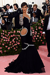 Bella Hadid attending the Metropolitan Museum of Art Costume Institute Benefit Gala 2019 in New York, USA.