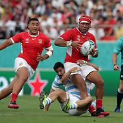 20190928 Rugby, RWC 2019 : Argentina vs Tonga