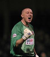 Photo: Jo Caird<br /> Gillingham v Sheffield United<br /> Priestfield Stadium<br /> Nationwide Div One 2004<br /> 10/01/2004.<br /> <br /> PADDY KENNY