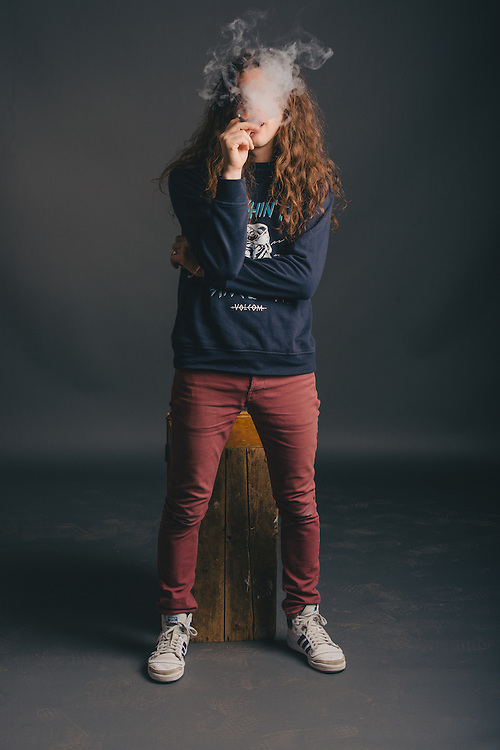 Portraits of Kurt Vile taken backstage at Atlantic Studios in Ásbrú for ATP Iceland 2014 in Keflavík, Iceland. July 10, 2014. Copyright © 2014 Matthew Eisman. All Rights Reserved