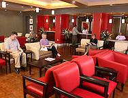 Waiting Room, Dallas architectural photographer, office interior photography, architectural photographer dallas