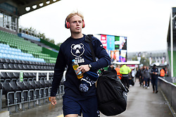 Mat Protheroe and the rest of the Bristol Bears team arrive at the Stoop - Mandatory byline: Patrick Khachfe/JMP - 07966 386802 - 26/10/2019 - RUGBY UNION - The Twickenham Stoop - London, England - Harlequins v Bristol Bears - Gallagher Premiership