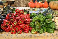 aix en provence, market at Hotel de  ville (city hall)..August 2008