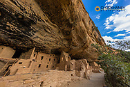 Spruce Tree House in Mesa Verde National Park, Colorado, USA